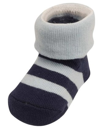Playshoes newborn socks, stripes blau 2014 - 大圖像