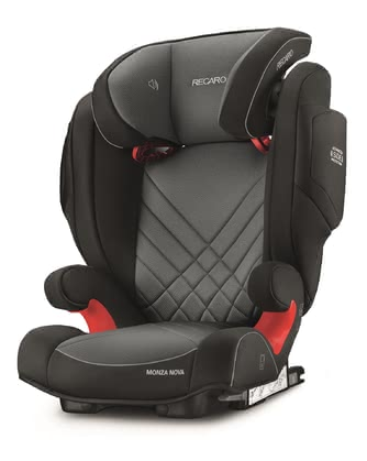 Recaro 兒童安全座椅 Monza Nova 2 Seatfix Core Carbon Black 2020 - 大圖像