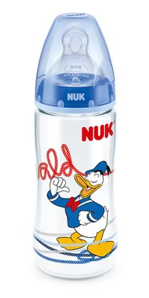 NUK Disney Donald FIRST CHOICE+ baby bottle, 300ml blau 2014 - 大圖像