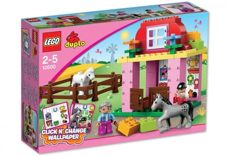 LEGO Duplo horse stable 2015 - 大圖像