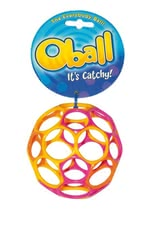 Oball Original 玩具球 - * The Oball is made of flexible plastic, promotes motor skills of your sweetheart and is suitable for all ages