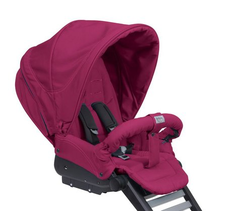 Teutonia Combi stroller Mistral P Graphite 5020_Cool Berry 2015 - 大圖像