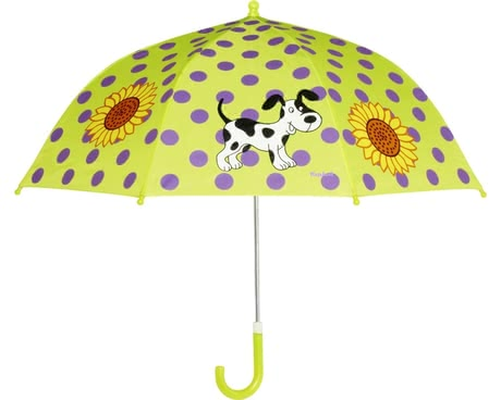 Playshoes umbrella for children, puppy green 2016 - 大圖像
