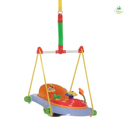 迪士尼維尼熊嬰兒彈跳鞦韆 -  * With the comfortable bouncer Jump Deluxe you are promoting the natural urge to move of your child.