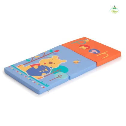 迪士尼小熊維尼折疊床墊 - * Practical and extremely comfortable travel cot mattress in the charming Winnie the Pooh design.