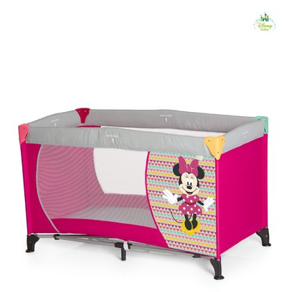 迪士尼米奇米妮嬰兒旅行床 Dream'n Play -  * The adorable Dream'n Play travel cot Mickey & Minnie will make your little one feel super safe and comfortable while being away from home.