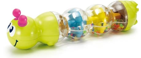 Mini caterpillar rattle - * The Mini rattle caterpillar is suitable for your little treasure from the 6th month of life and promotes the coordination of your baby