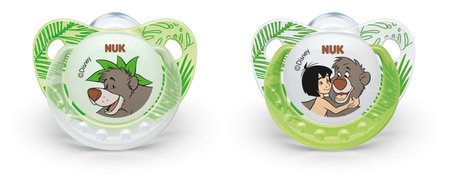 NUK Disney Jungle Book soothers Trendline with ring 2014 - 大圖像