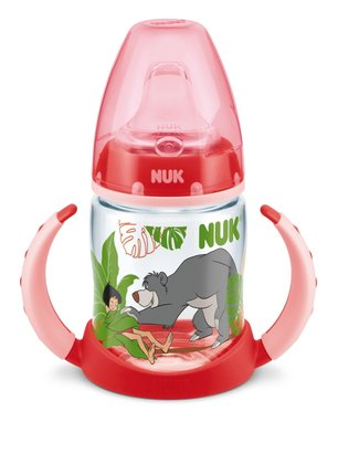 NUK Disney Jungle Book First Choice PP Training Bottle, 150 ml rot 2014 - 大圖像