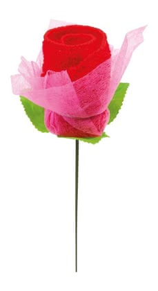 Towel rose - * The towel rose is a great gift and a super decoration at the same time