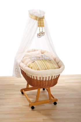 Alvi 嬰兒床組 Dream Team - The Alvi bassinet set Dream Team is decorated with high quality embroidery and is the perfect accessory for your bassinet