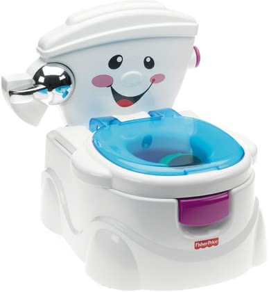 Fisher-Price 嬰兒馬桶 -  * The Baby Gear First toilet by Fisher-Price will make the transition from potty to toilet as easy and fun for your child as possible!