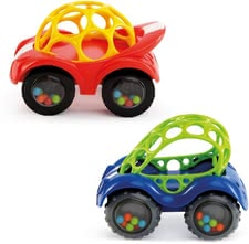 Oball 玩具汽車 Rattle & Roll -  * The Oball Rattle & Roll is suitable for your favorite from 3 months of age and provides loads of fun
