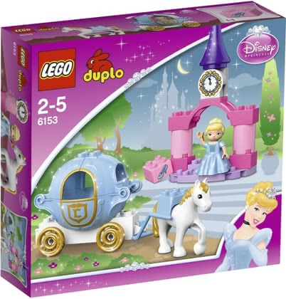 LEGO Duplo Cinderella's Princess Carriage 2014 - 大圖像