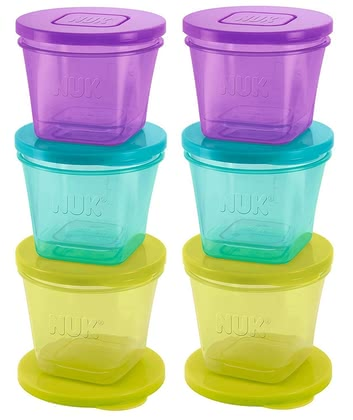 NUK Fresh Foods 食品保鮮盒 -  * Always having a fresh meal for your child ready at hand – with the NUK Fresh Foods storage containers this will no longer be a problem.