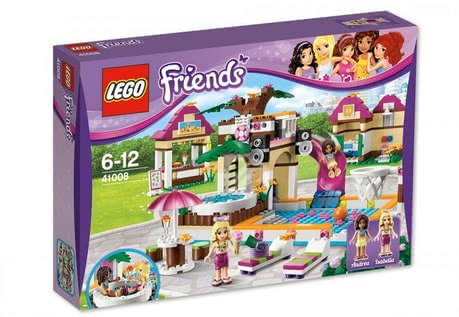 LEGO Friends Large Swimming pool 2014 - 大圖像