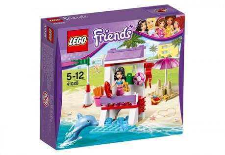 LEGO Friends Emma's Lifeguard Post 2016 - 大圖像
