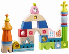 Haba 城堡積木 -  * Ultimate fun for any discoverer is guaranteed with this colourful set of building blocks.