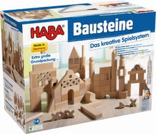Haba 特大號包裝積木 -  * Let the creativity begin! Playing with these great solid wooden blocks is both an exciting and versatile activity for every little builder.