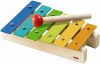 HABA 金屬樂器 玩具 -  * Wild music or fantastic sounds – with this resilient wooden xylophone, your little one can make music like a pro!