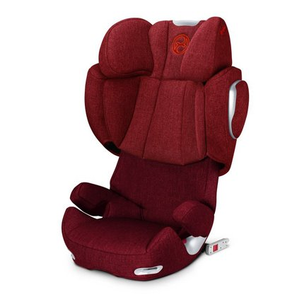 Cybex Child car seat Solution Q2-Fix Plus Hot & Spicy - red 2015 - 大圖像