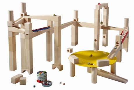 Haba 彈珠軌道遊戲 - 大師級建築 -  * A ball track is one of the top toys and an absolute must-have for every little builder at the age of three and older.