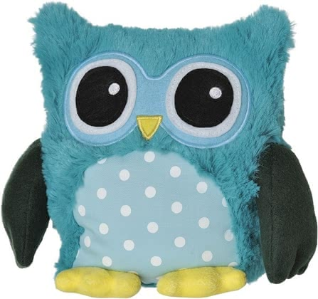 Warmies PoP! 薰衣草暖手枕,貓頭鷹造型 -  * Keep me warm, little owl! These funny little owls that come in bright colours will make your little one's heart melt instantly.