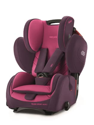 Recaro Young Sport Hero 兒童汽車安全座椅 Core Power Berry 2020 - 大圖像