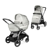 Peg Perego Peg Perego 多功能兒童推車Book S 豪華版 -  * The multifunctional stroller Book S Deluxe by Peg-Perego is narrow and light in weight and stands out as one of the best strollers for the city. The hard carrycot Culla Elite and the Deluxe fabrics contribute to the highest level of comfort for you and your child.