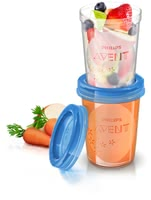 AVENT 嬰兒食品儲存杯 -  * Store and feed your healthy weaning meals with the Avent Food Storage Cups.