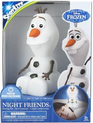 Olaf nightlight Frozen spot light 2015 - 大圖像