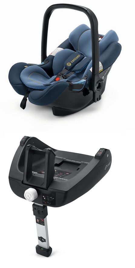 concord air safe airfix isofix 2015 denim blue. Black Bedroom Furniture Sets. Home Design Ideas