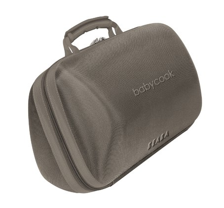 Béaba 副食品調理機便攜包 -  * The Béaba Babycook Bag stores your Babycook in a safe and practical way. The solid protective shell prevents the Babycook form getting scratches, stains or damages.