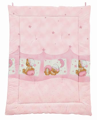 Zöllner Play mat Cuddly Bear, pink 2016 - 大圖像