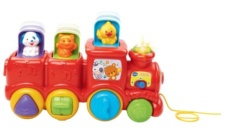 VTech 探險家─益智玩具火車 -  * The VTech Explorer Locomotive promotes the motor skills and is suitable for your little one aged 9 months