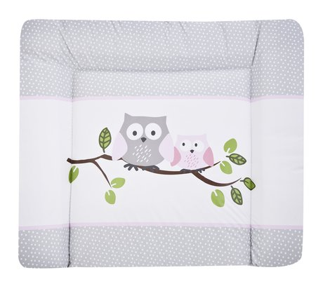 Zöllner Softy changing mat, Little Owls, pink 2016 - 大圖像