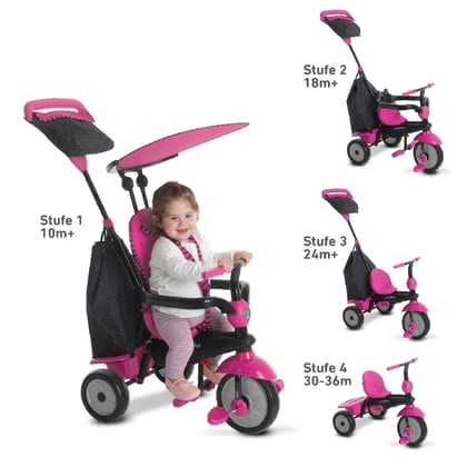 SmarTrike 三輪車 Glow -  * Let's discover the world! The smarTrike tricycle Glow has been designed for children at the age of ten months and up and will bring utmost comfort and ultimate driving fun into your little one's day.