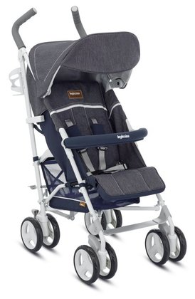 Inglesina 輕便推車 Trip -  * The Inglesina Buggy Trip is a dashing and trendy companion for exciting outings with your little one. Its resilient and lightweight chassis contributes to many easy rides.