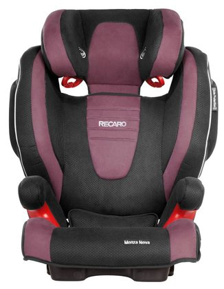 Recaro child car seat Monza Nova 2 Seatfix including Recaro summer cover Violet 2016 - 大圖像