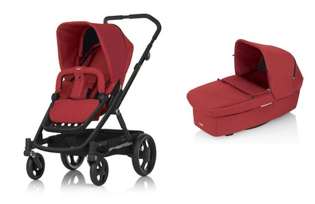 BRITAX GO stroller incl. Carrycot Chili Pepper 2015 - 大圖像