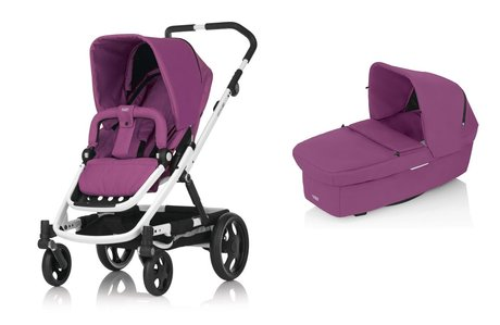 BRITAX GO stroller incl. Carrycot Cool Berry 2015 - 大圖像