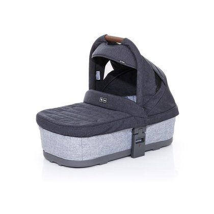 ABC-Design 兒童推車 Cobra PLUS / Mamba PLUS 專用手提搖籃,石墨灰 -  * The ABC-Design carrycot, which is suitable for children right from birth, is the perfect place for your little one to cuddle up and rest comfortably. Due to the flat recline position that provided maximum comfort while traveling, you can easy go on longer strolls.