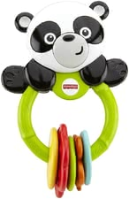 Fisher-Price 熊猫手摇玩具 - The Klick-Klack panda by Fisher Price is the ideal companion with ist five coloured ticktack toys. It does not matter whether you are at home or en route.