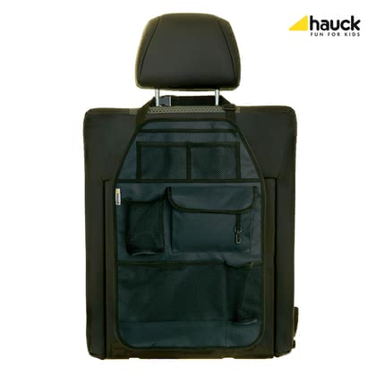 "Hauck 汽車椅背保護罩 Cover me deluxe -  * The premium seat back protector ""Cover Me Deluxe"" prevents the back of the front seat in your car from being stained while providing useful place to store necessities and niceties at the same time."