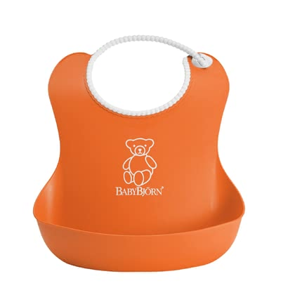 Baby 柔軟圍兜兜 - * The colourful soft bib by Baby Björn will make the first attempts to eat independently perfect. It is provided with a useful catch tray.