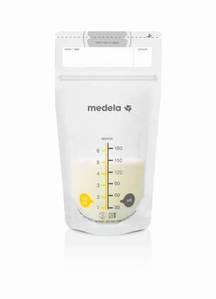 Medela 母乳儲存保鮮袋 -  * The Medela Pump & Save bag for breast milk are bags which can immediately be used and which are made of tested, food safe BPA-free (bisphenol A) material.