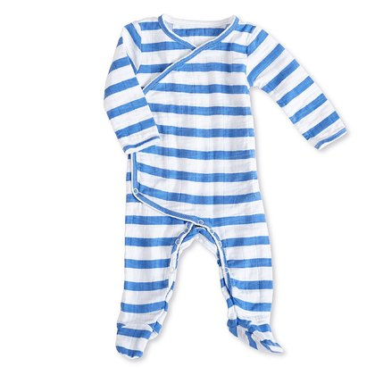 aden+anais 嬰兒連身睡衣 - * The babygrow by aden+anis will provide a carefree putting on and taking off your little one's clothes and keeping him/her warm from tip to toe.