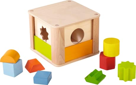 Haba 動物園收納玩具 - * The sorting box with zoo animals will provide a lot of fun.
