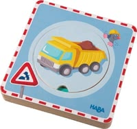 Haba 3D木質拼圖 - Puzzle differently with the woodn puzzle 3D by Haba.