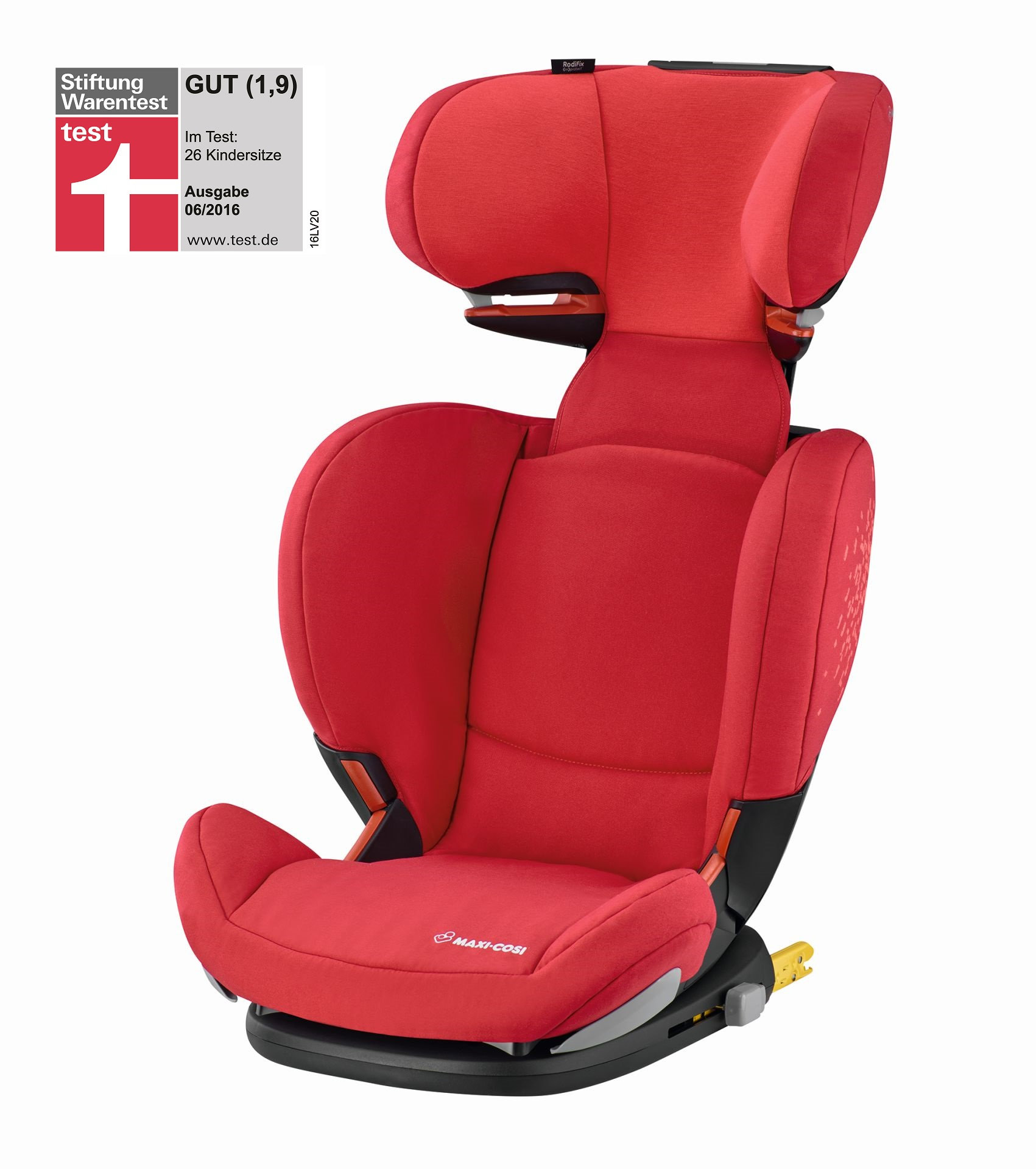 maxi cosi rodifix air protect isofix 2018 vivid red kidsroom. Black Bedroom Furniture Sets. Home Design Ideas